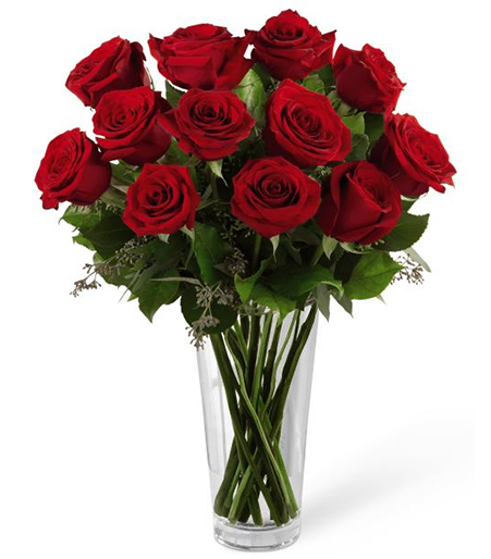 The Red Rose Bouquet